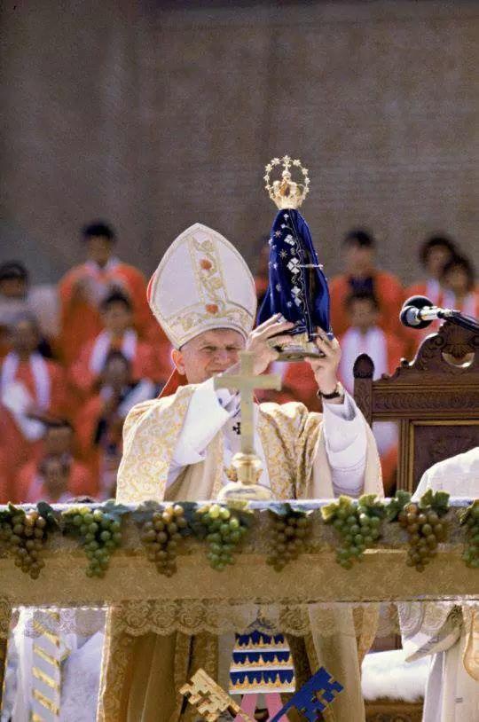 Brazil Catholic Marian devotion prayer Pope John Paul II