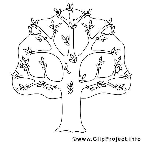 Baum Bild zum Ausmalen Malvorlage Malvorlagen Baum