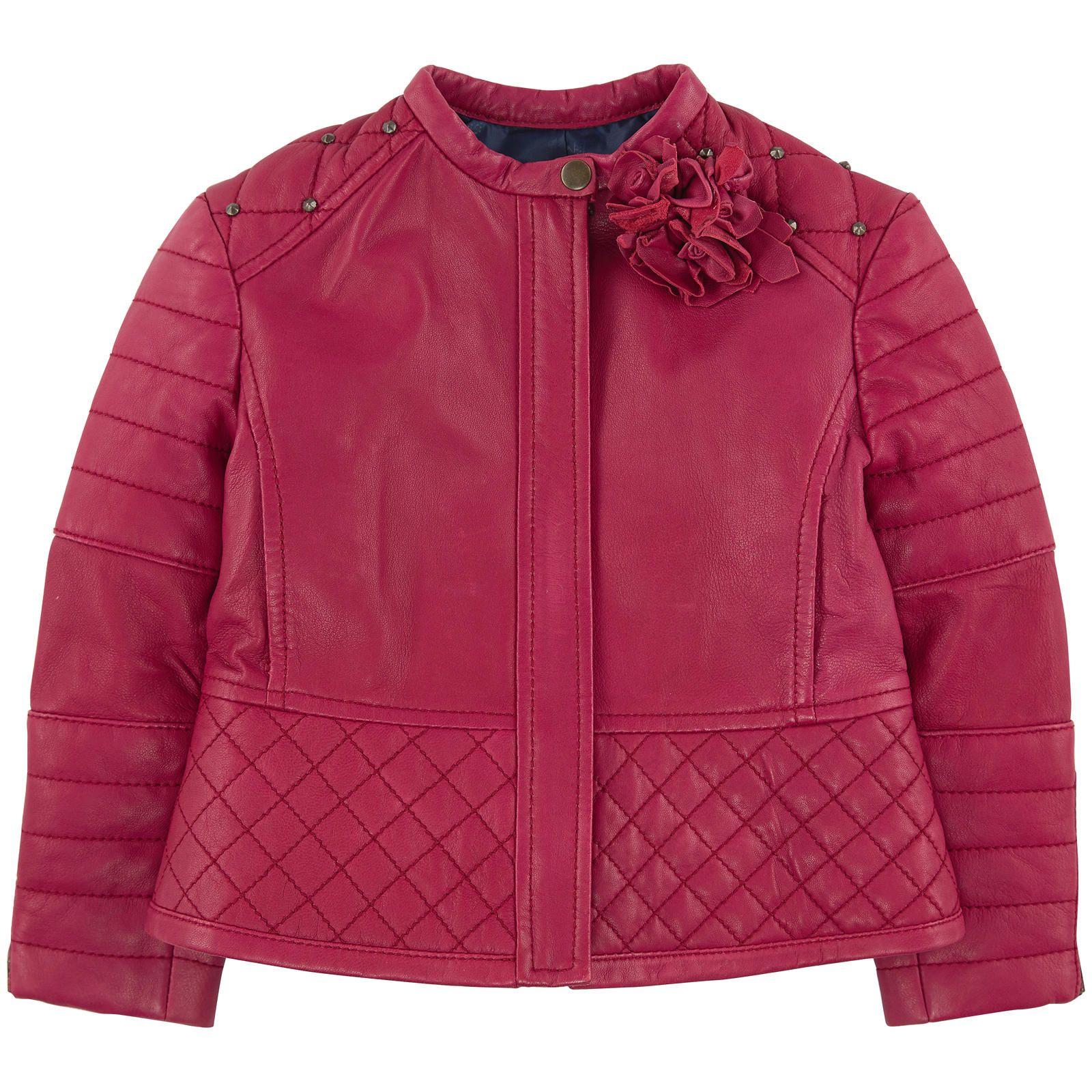 95caf9903 Leather jacket Monnalisa for girls | Melijoe.com | Girl Fall ...