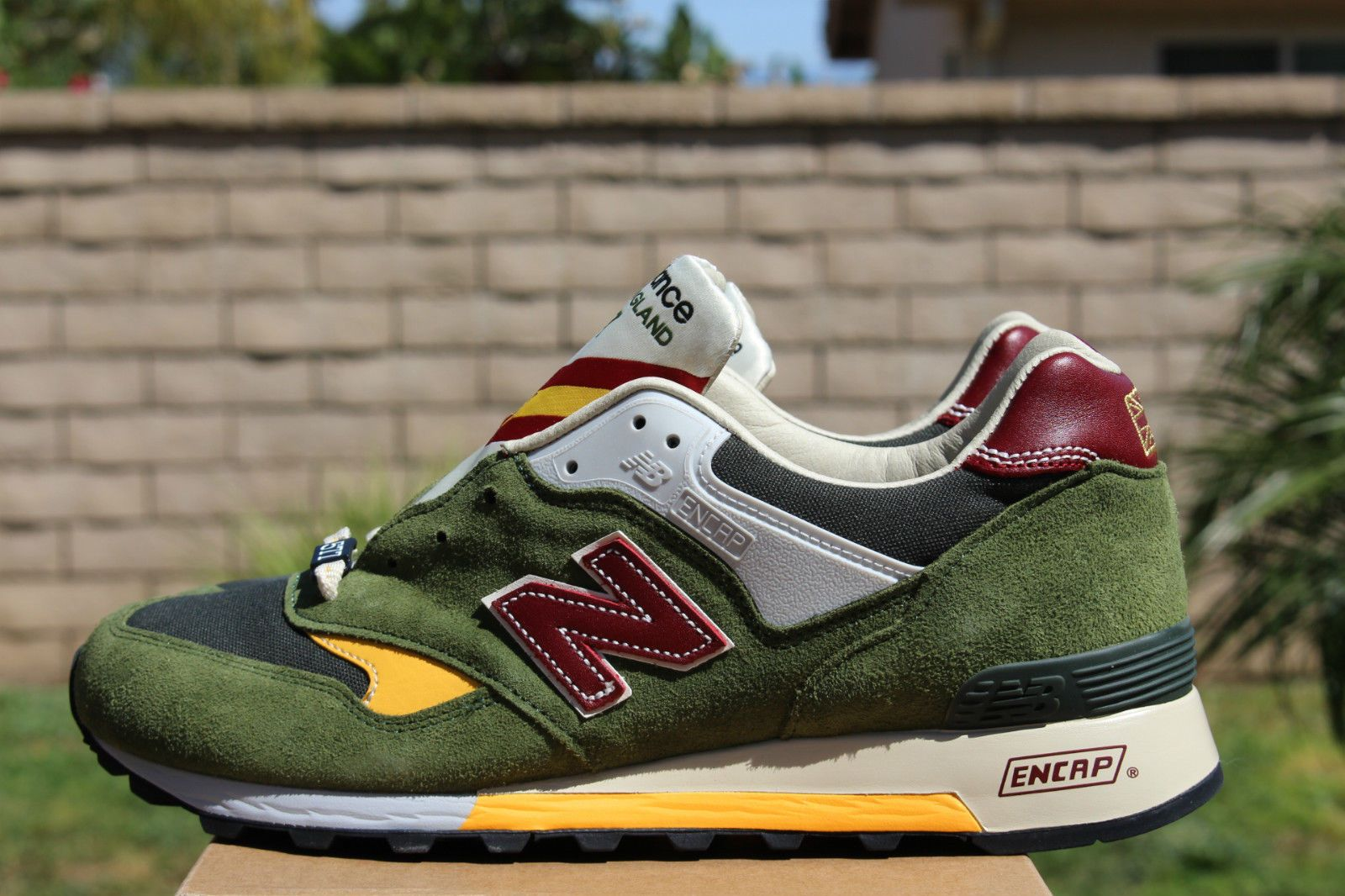 new balance made in uk green