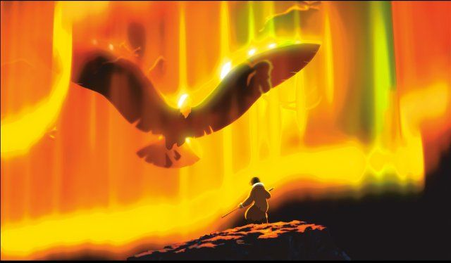 KEANAI (Northern Lights) ~ Brother Bear, 2003, Northern Lights. | Brother  bear, Bear wallpaper, Disney images