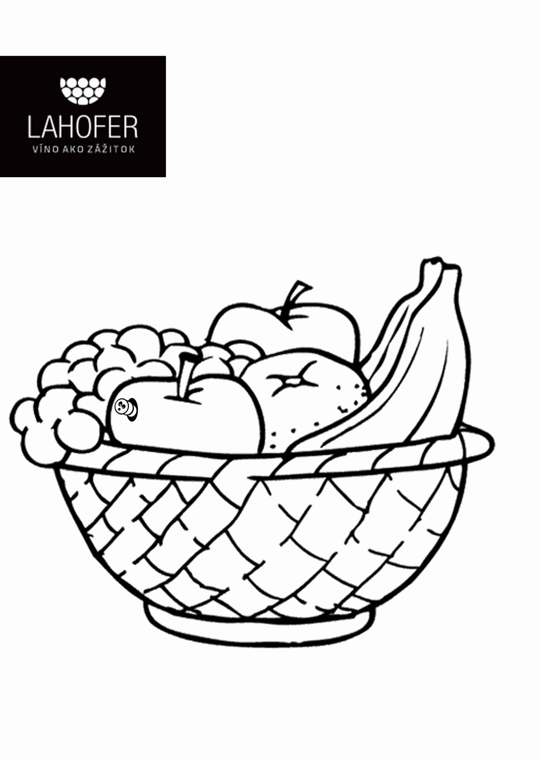 Vegetable Basket Coloring Best Of Lahofer Fruits Kids Colors Fun Vegetable Basket Fruit Coloring Pages Vegetables