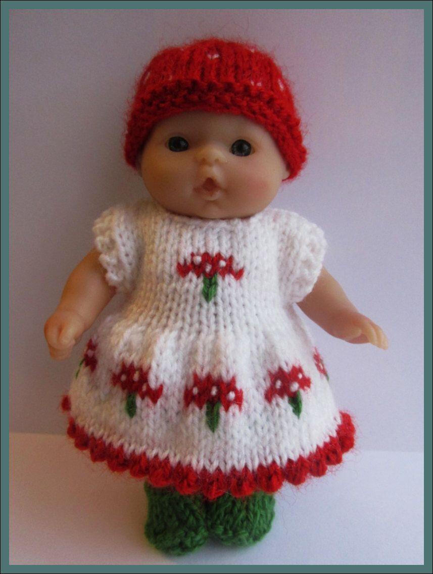 Knitting Pattern for 5\