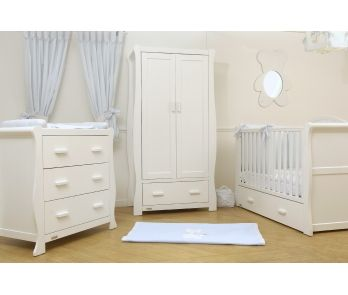 Room Set Includes Sleigh Cot Bed Dresser Wardrobe Free Uk Mainland Delivery Sensibly Priced New Zealand Pine Nursery Furniture From Bonito