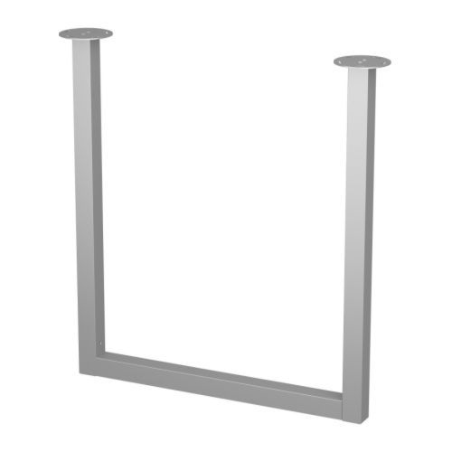 Vika Moliden Underframe Nickel Plated Ikea Table Legs Desk