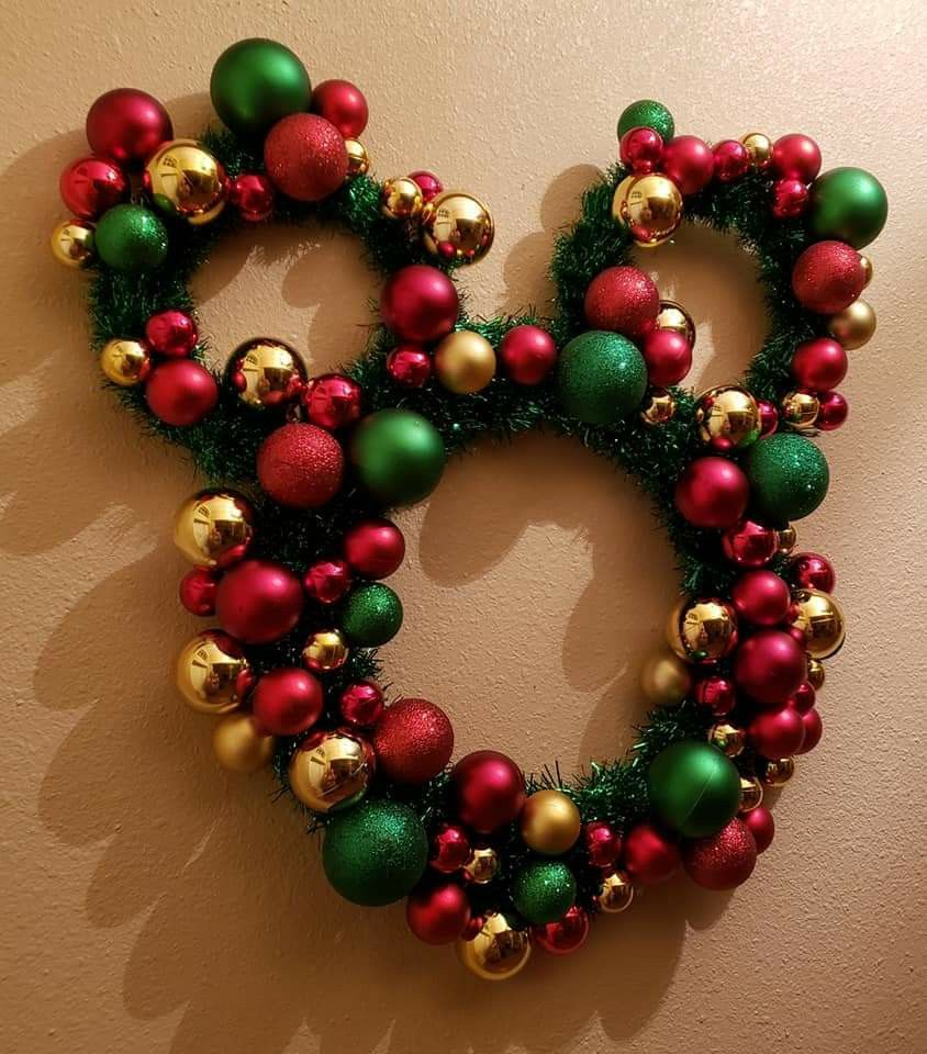Mickey Mouse Xmas Wreath Xmas Wreaths Winter Wreath Wreaths