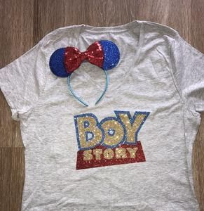 c73d6930 Disney Boy Story Toy Story Its a Boy Boy Mom Dad Shirt | Clothing ...
