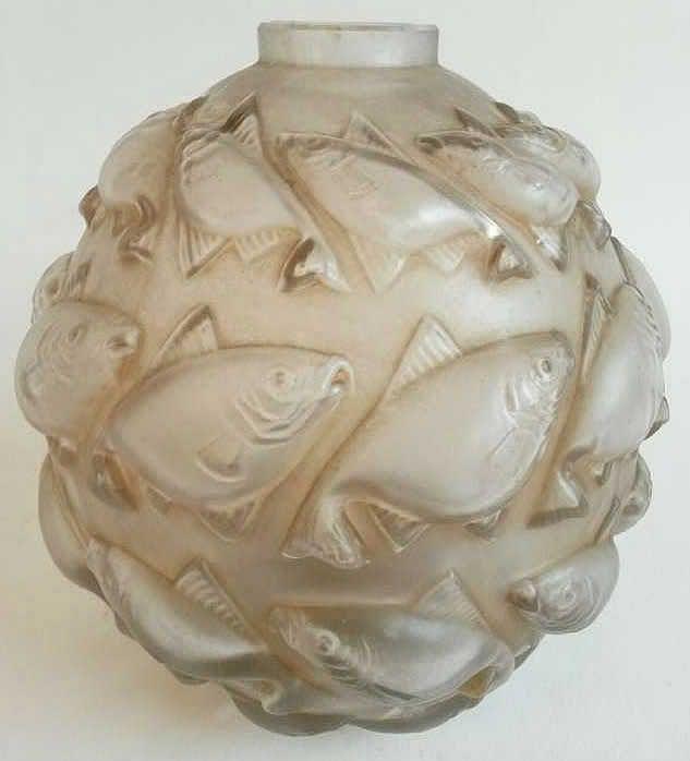1010 R Lalique Vase Camaret Rene Lalique Pinterest