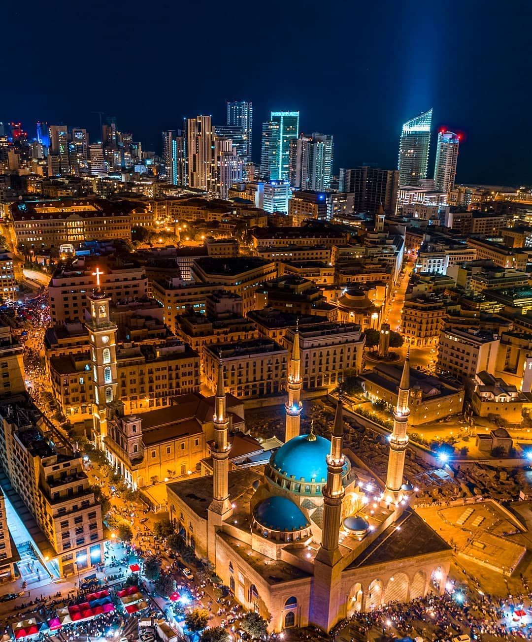 Repost By Reposta App The Lights Of Freedom Beirut Lebanon Downtown Capital Revolution Protest Djiglobal Lebanon Beirut Lebanon Beirut