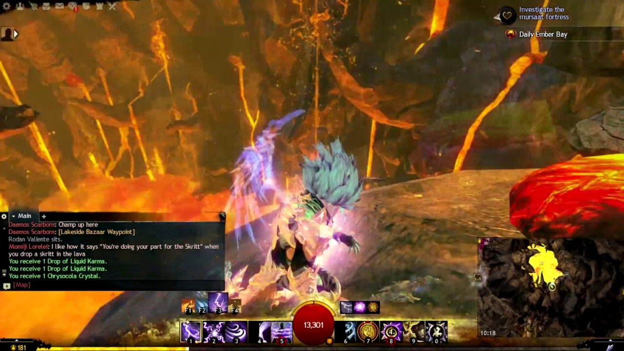 Chalice of Tears - Jumping Puzzle Guide (Skip Up the Volcano ...
