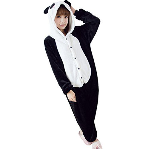 ferrand kigurumi pyjamas unisexe adulte costume cosplay animaux onesie panda noir s molly http. Black Bedroom Furniture Sets. Home Design Ideas