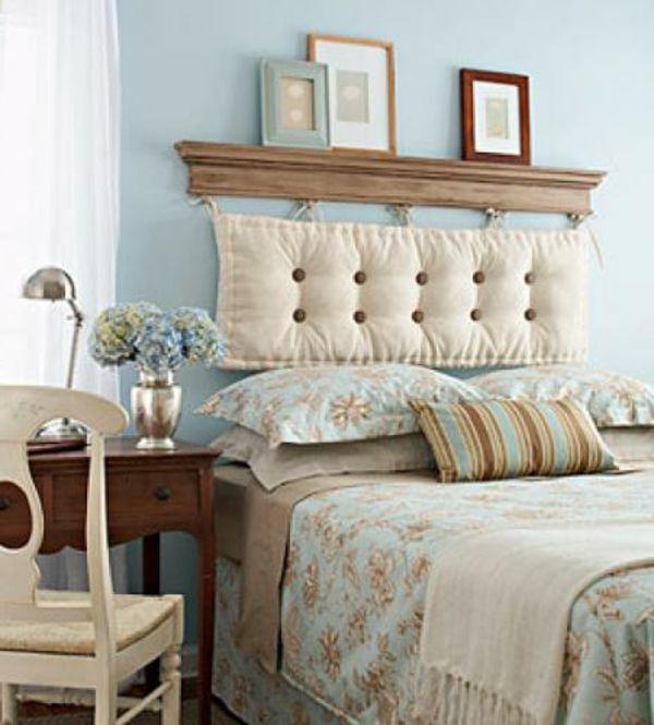 153 coole ideen für bettkopfteile   bett   pinterest   kopfteile - Kopfteil Fur Bett Wanddeko Schlafzimmer