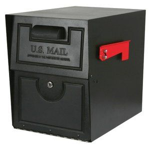 Solar Group Extra Large Heavy Duty Security Mailbox (With ...