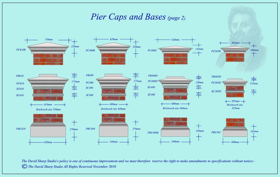 Image Result For Pier Caps Uk Building Materials