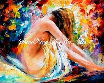 palette knife oil painting  modern oil painting canvas oil painting  K679 40x60cm