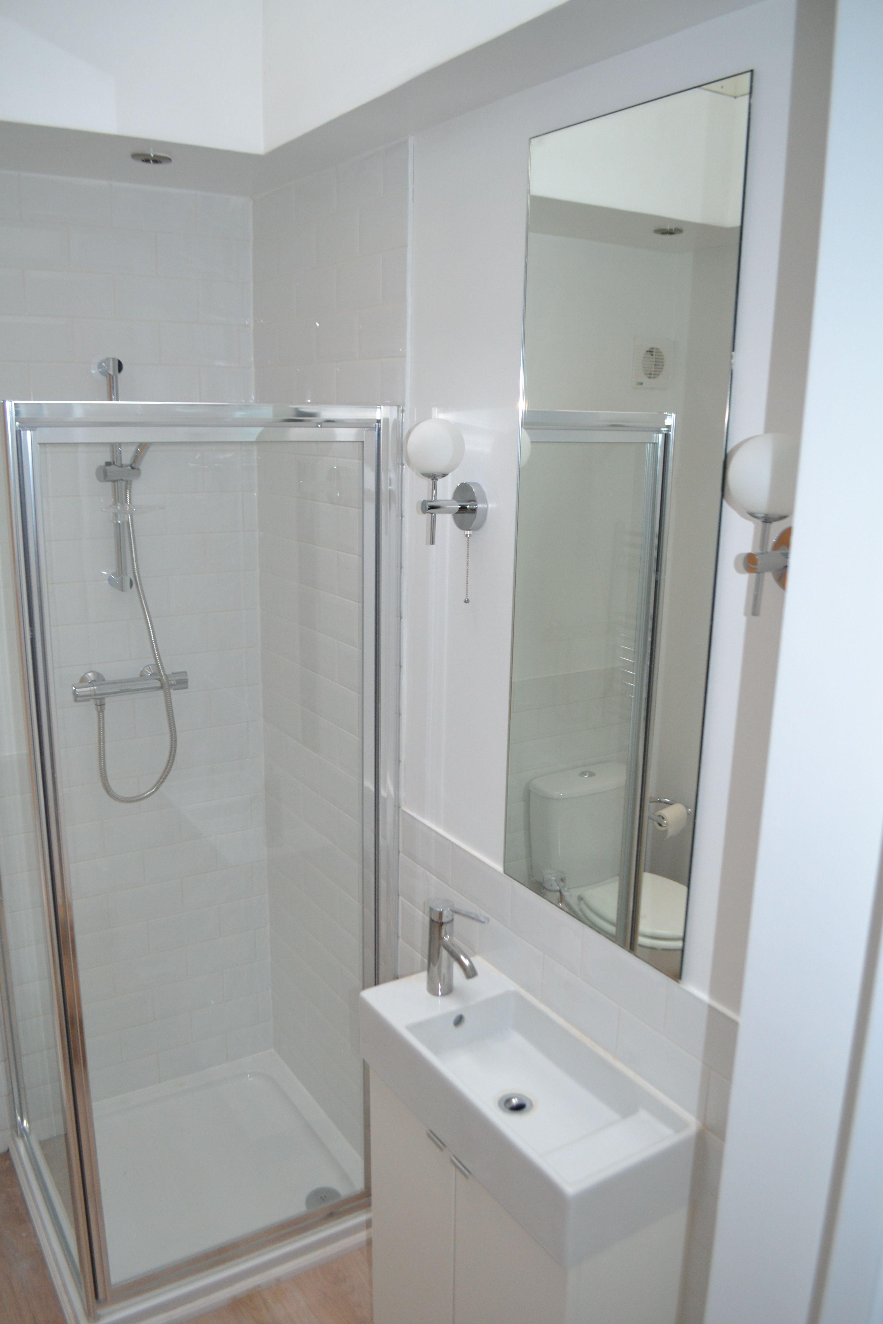 Large Kitchen Extension Into Side Return Shepherds Bush W12 Shower
