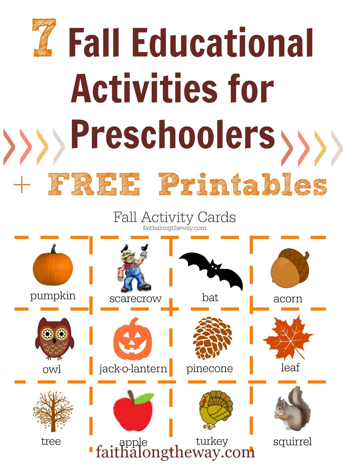 7 Fall Educational Activities For Preschoolers