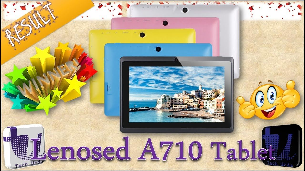🏅AND THE WINNER IS?? LENOSED A710 WIFI TABLET GIVEAWAY