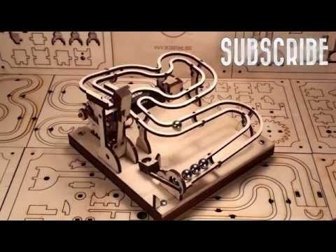Marble Machine Kit Build Your Own Marble Machine Rolling Ball Machine Marble Tracks