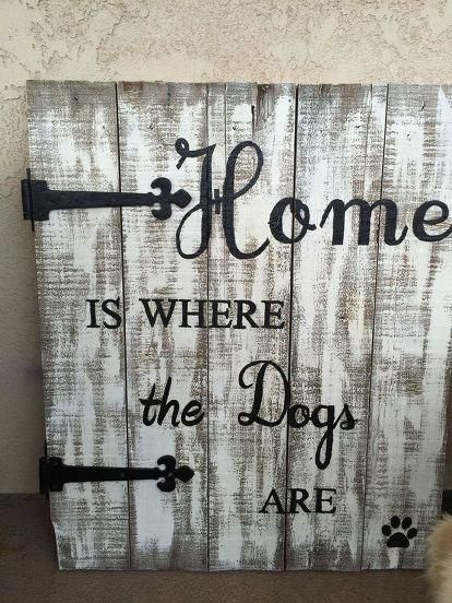 repurposed old pallet to cool porch sign, crafts, how to, pallet, repurposing upcycling #oldpalletsforcrafting