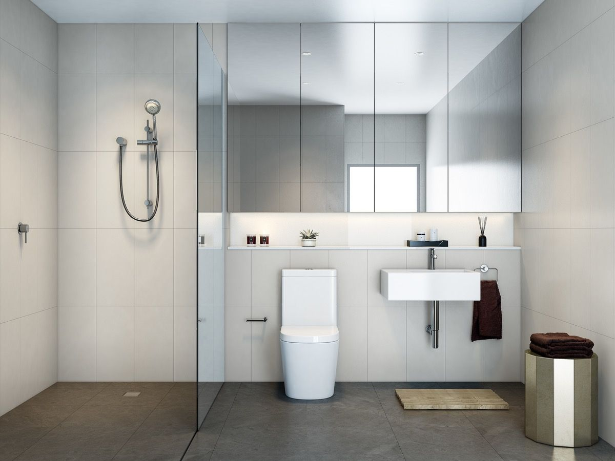 40 Modern Minimalist Style Bathrooms: 40 Modernos Baños De Estilo Minimalista