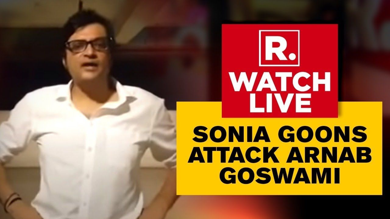 Live Tv 24x7 Arnab Goswami Attacked By Congress Latest News Republic In 2020 Live Tv Arnab Goswami News Channels