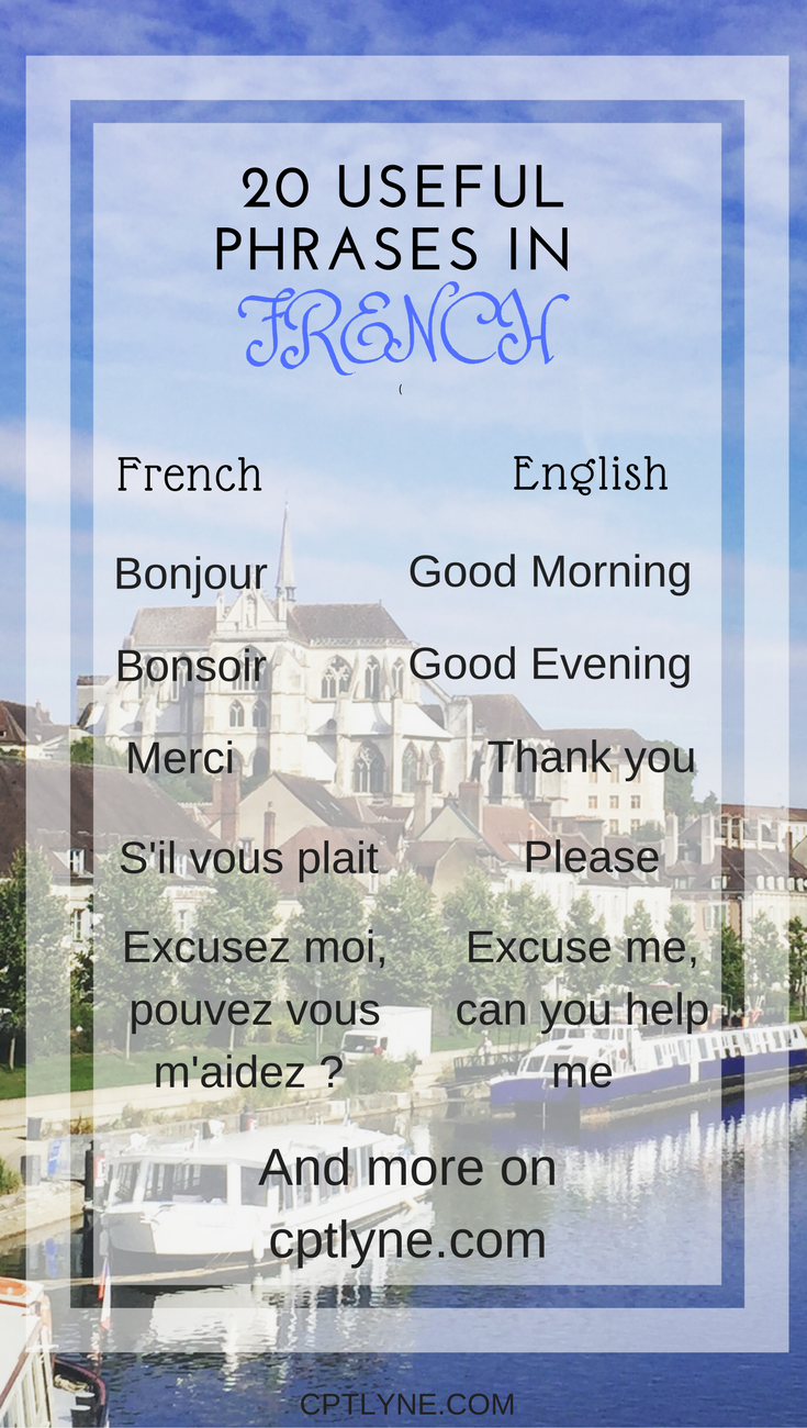 When will you visit me in french