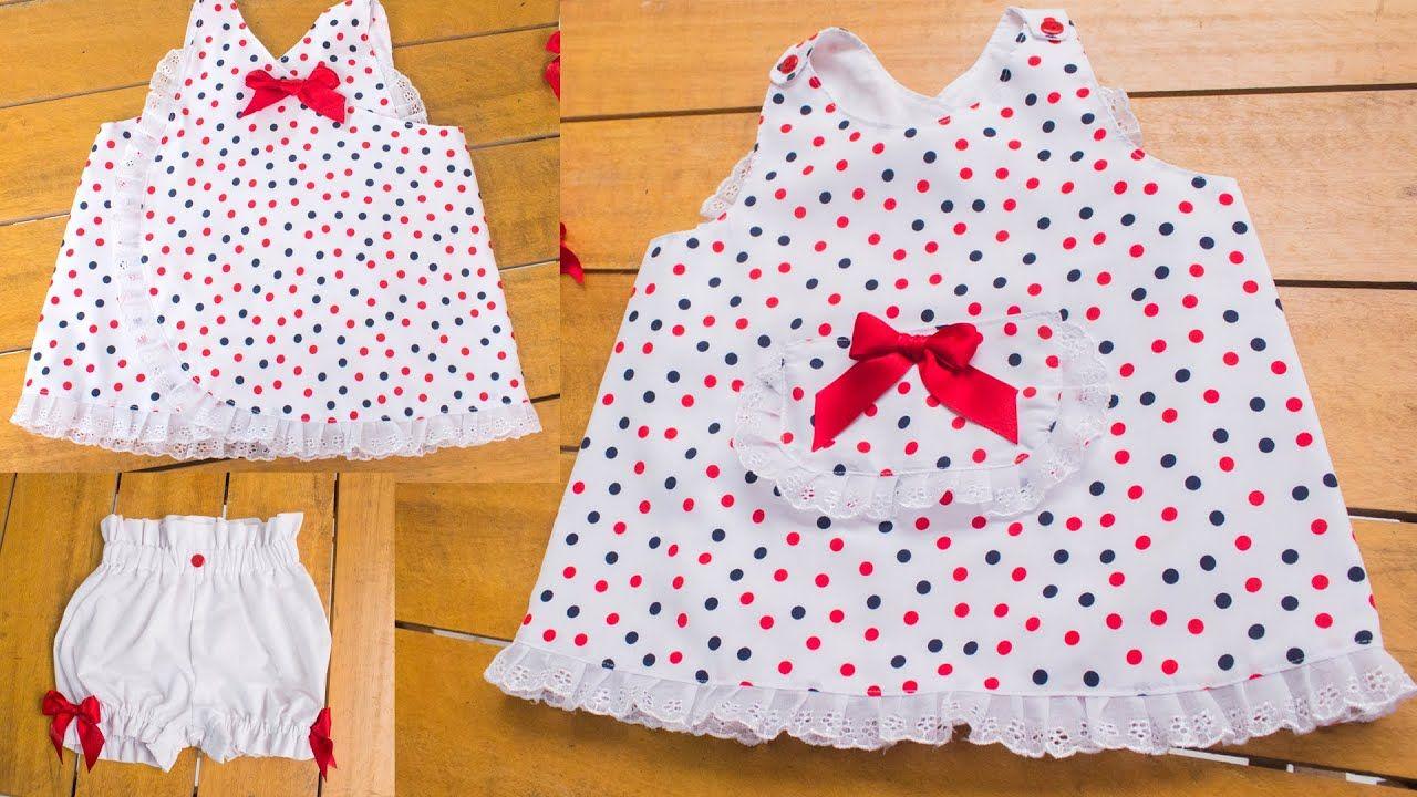 Youtube Costura De Vestidos De Niñas Vestidos Mexicanos Para Niña Ropa Infantil Para Niña