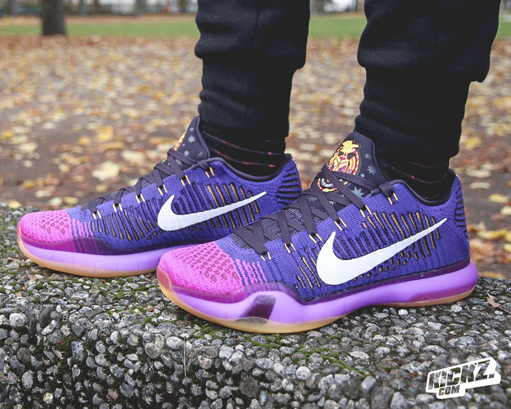 bdc41c90020 His 10th Nike signature shoe just arrived in the new colorway all in Lakes  purple and gold. The NIKE KOBE X DRAFT PICK
