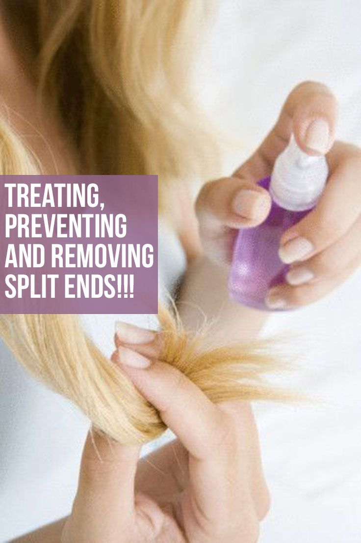 25 Effective Ways To Treat Prevent And Remove Split Ends