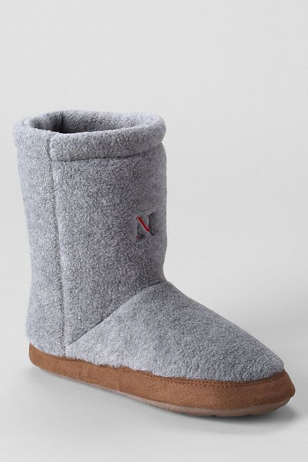 Fleece Bootie Slippers from Lands' End