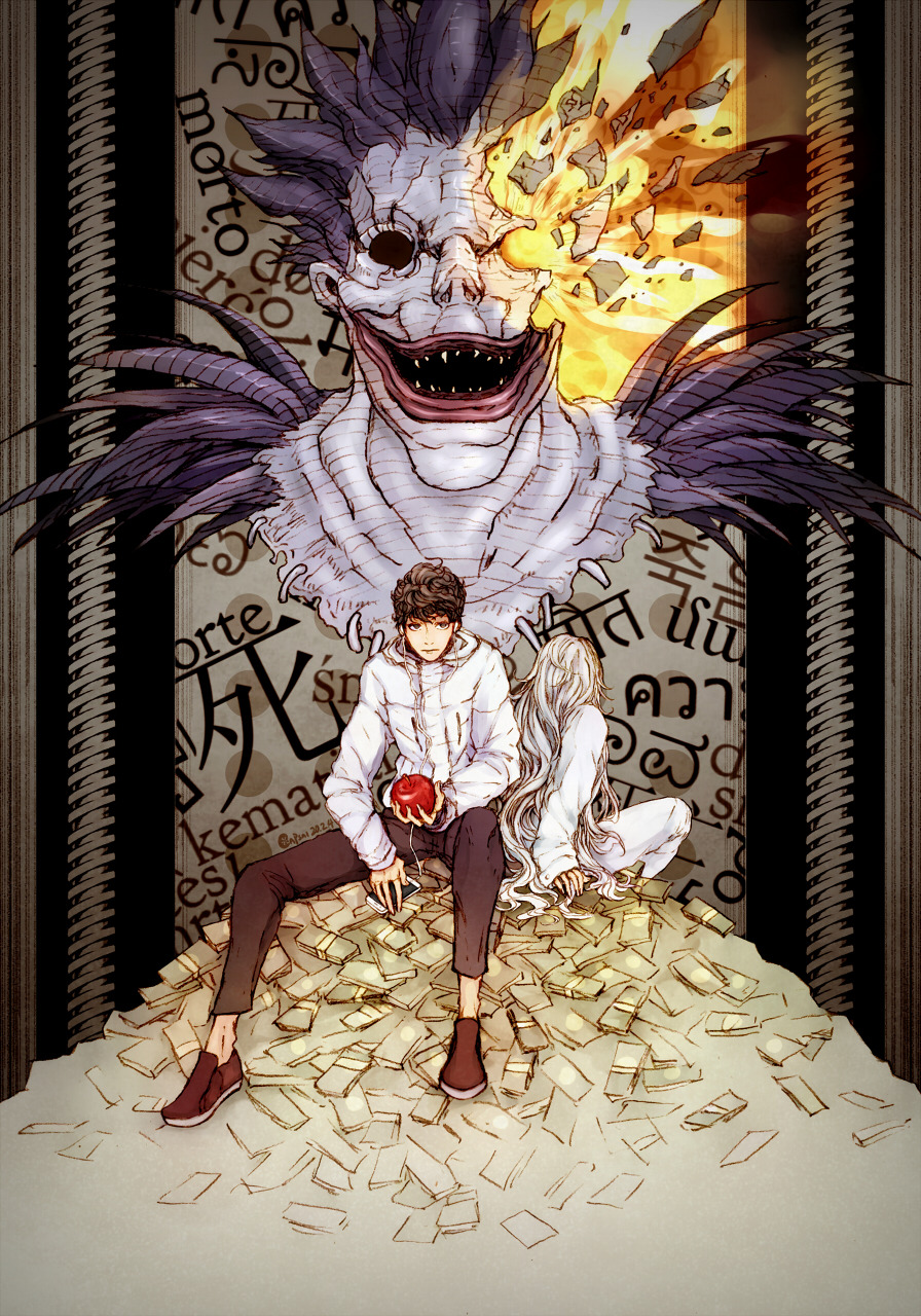 Pin by Kylethealligator on Death Note in 2020 Death note