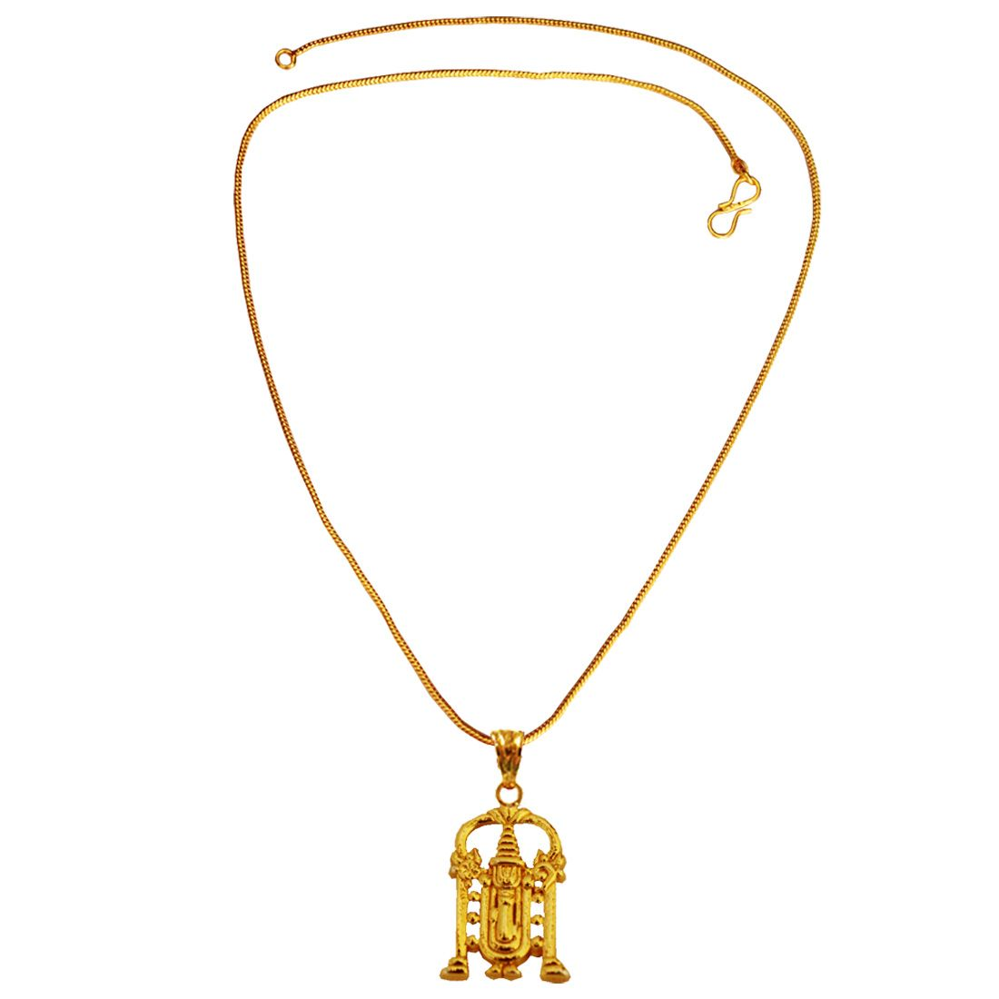 MENJEWELL SPIRITUAL COLLECTION GOLD PLATED SOUTH INDIAN LORD ...