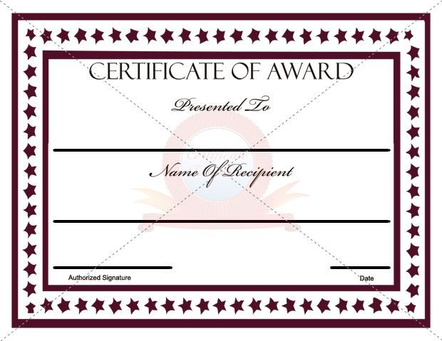 military certificate of appreciation templates