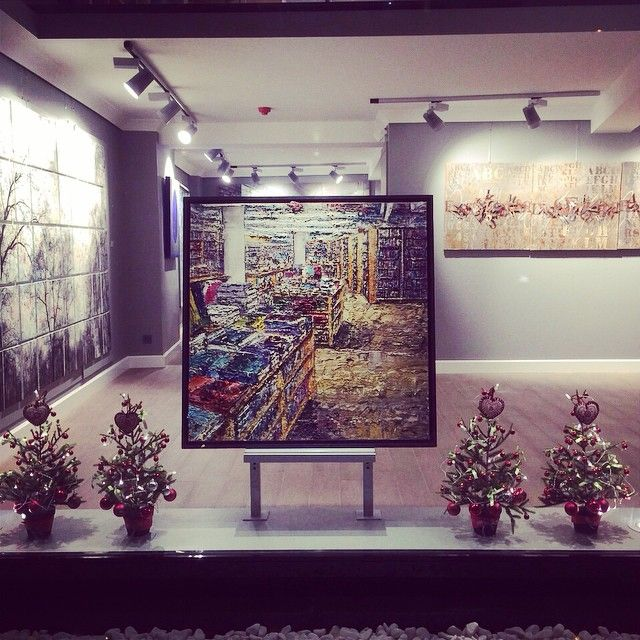 New year is around #russoartgallery #art #painting #massimogiannoni #artgallery #galleriarusso #tophane #istanbul