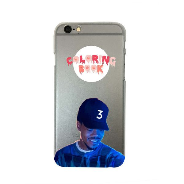 Chance The Rapper Coloring Book Iphone 6 6s And 6 Plus Phone Case 14 Liked On Polyvore Featuring Accessori Cool Phone Cases Cute Phone Cases Iphone Cases