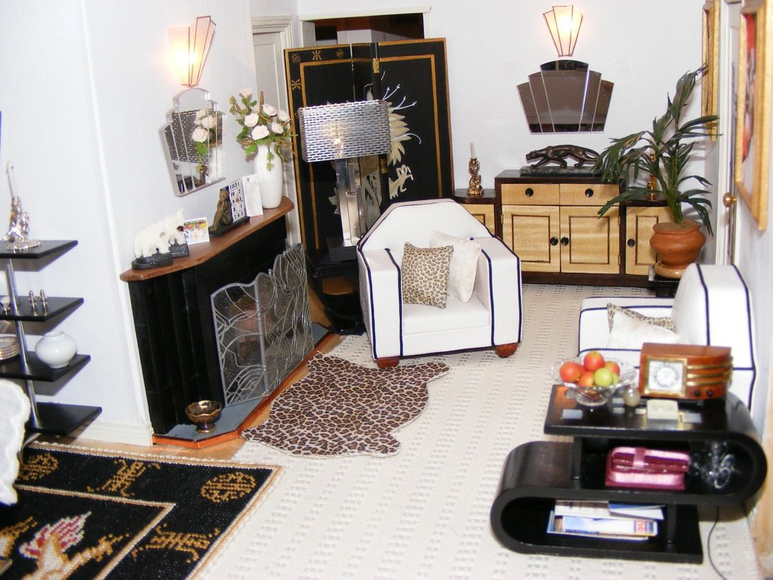 Superior An Art Deco Dolls House Made And Furnished By Artisans By Jazz   Dolls  Houses Past U0026 Present