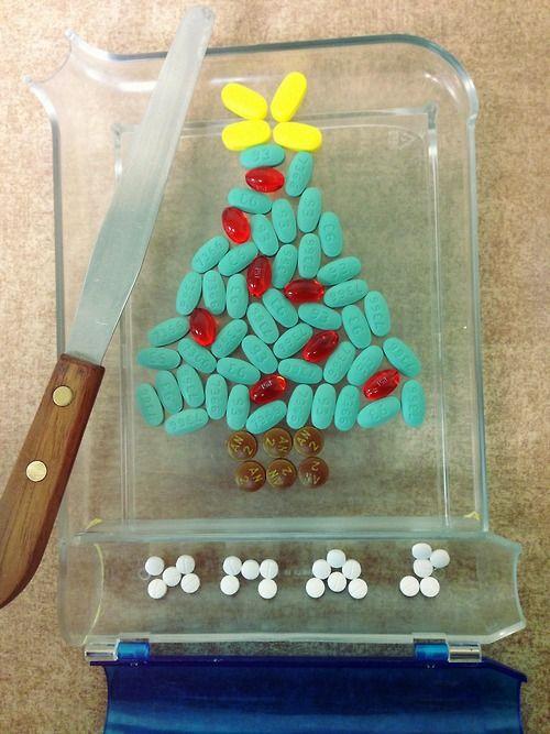 Merry Christmas from your friendly neighborhood pharmacist! LOL