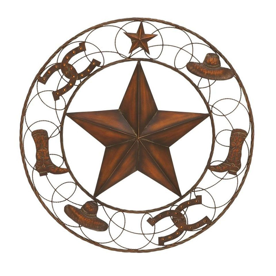 24 iron western wall decoration make your house a home