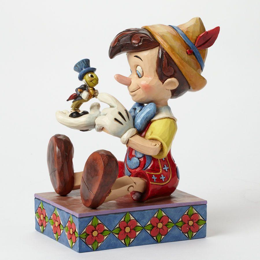 Jim Shore Disney Traditions Pinocchio Jiminy Just Give A Little Whistle 4043647 Disney Traditions Jim Shore Disney Figurines