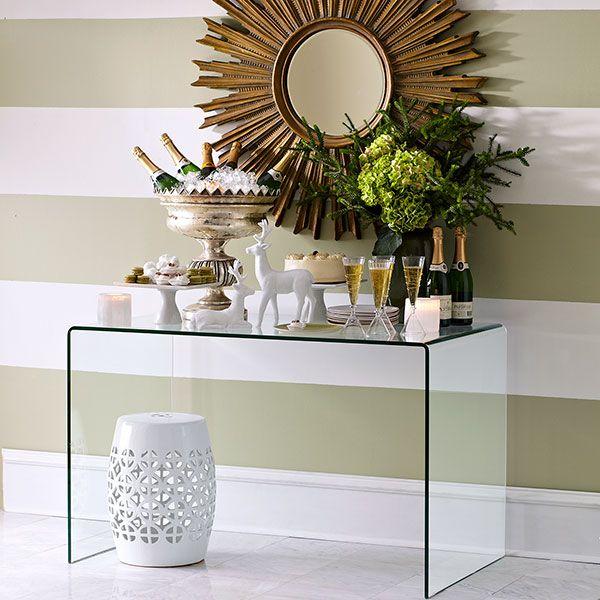 Wisteria   Furniture   Shop By Category   Poufs U0026 Stools   White Geometric Garden  Stool