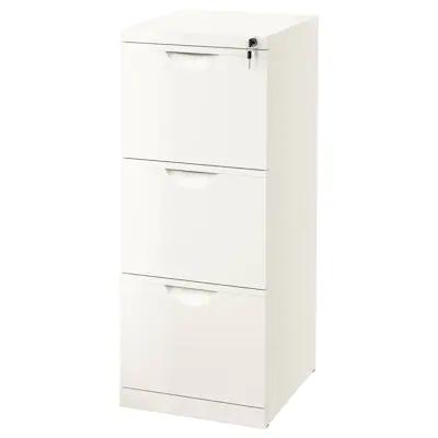 Erik Armoire A Dossiers Blanc 41x104 Cm Ikea Meuble Classeur Ikea Armoire