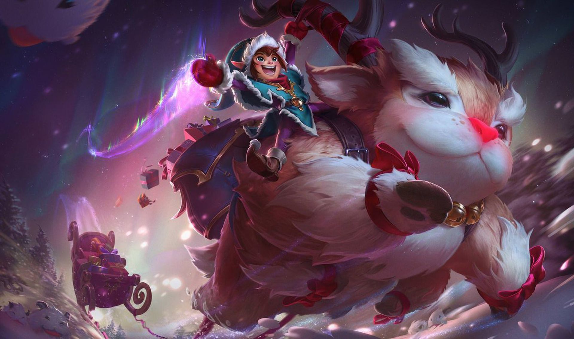 Nunu & Willump rework: Skins and splash art - The Rift