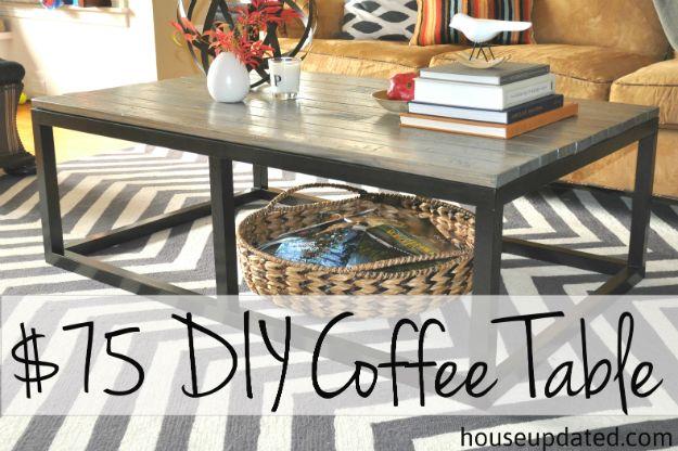 Diy Coffee Table Projects Diy Coffee Table Diy Table Decor