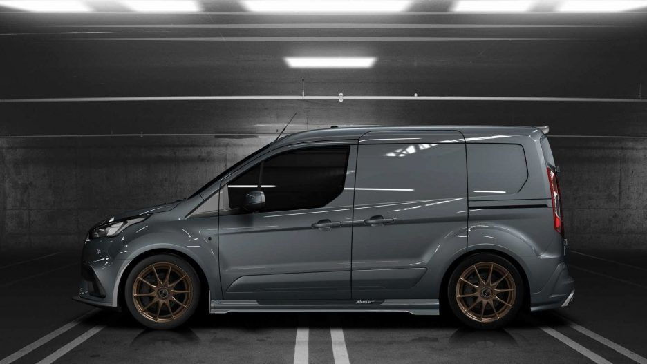 Ms Rt Ford Transit Connect Launch Edition Side Details