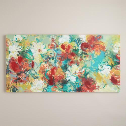 Abstract garden by elinor luna world market · home wall artwall