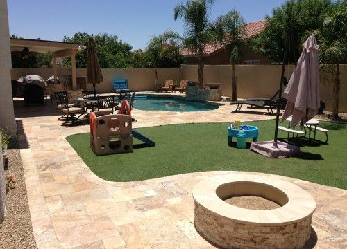 Phoenix Landscaping Designs, Outdoor Kitchens, and Pavers - Phoenix Landscaping Designs, Outdoor Kitchens, And Pavers Fire Pit