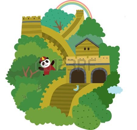 Great Wall Of China Illustration Google Search Great Wall Of