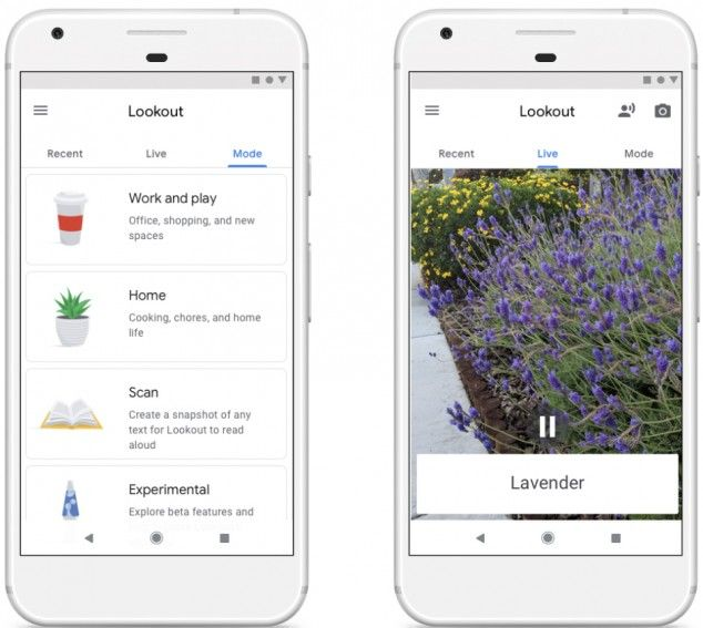 Google's Lookout App to Help Visually Impaired Learn About