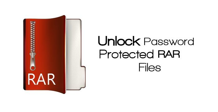 winrar open password protected files